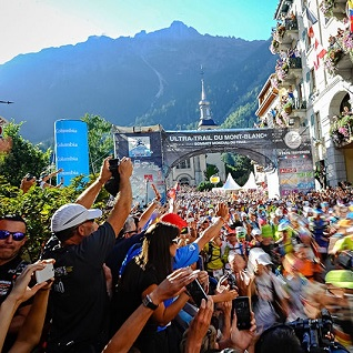The UTMB in Chamonix